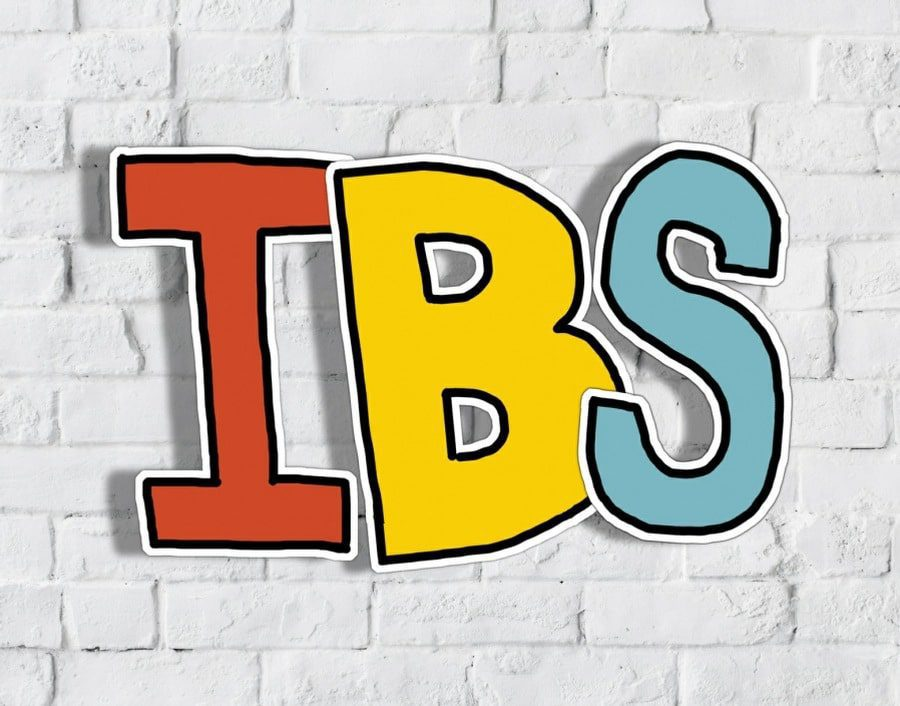 irritable bowel syndrome counselling wolverhampton - IBS banner on wall