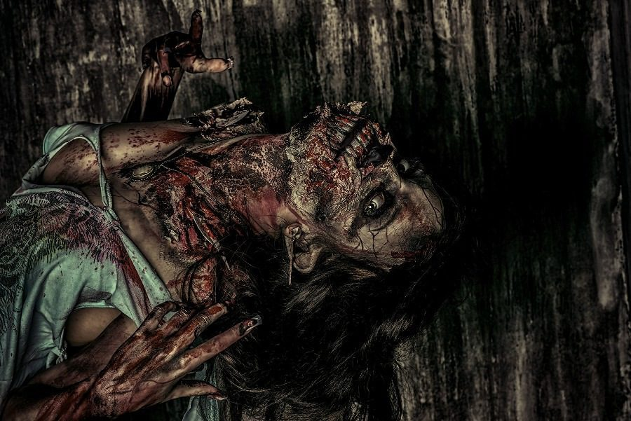 Fear of Dreams Oneirophobia - nightmare image of decaying woman