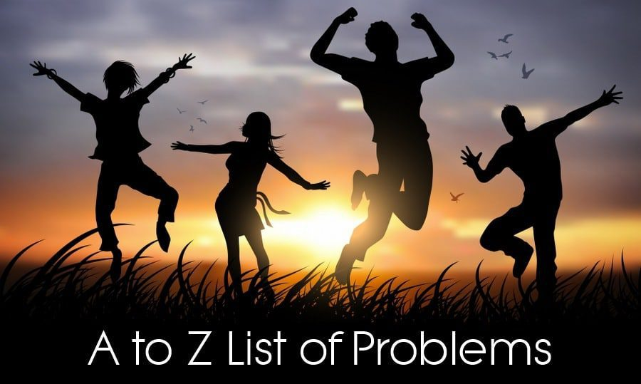 list of problems image eople dancing