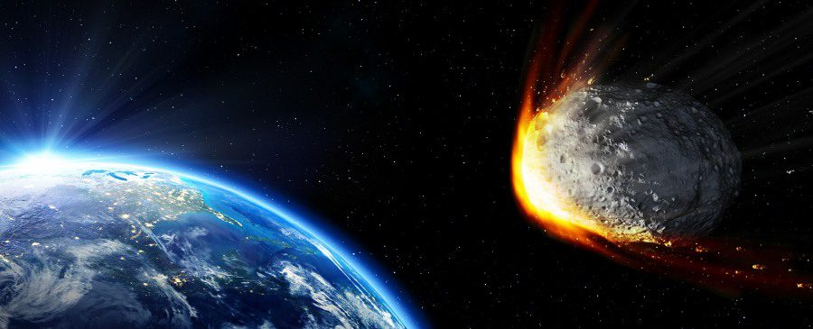 anticipatory anxiety - meteor disaster image