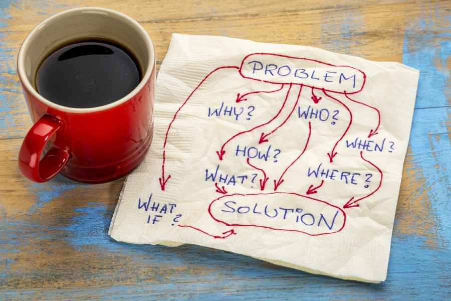 Food addiction counselling problems and solutions banner